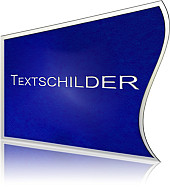 Textschilder