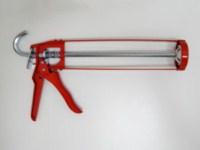 Halbschalenpistole aus Stahlblech