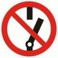 Symbolschild Nicht schalten nach BGV A8 P 10