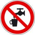 Symbolschild, Kein Trinkwasser nach BGV A8 P 05