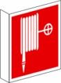 Fahnenschild, Löschschlauch nach BGV A8 F 03 Restbestände vorhanden