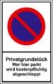 Hinweisschild, Privatgrundstück....