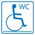Piktogramm, Behinderten WC Restbestände vorhanden