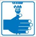 Piktogramm, Handwaschgelegenheit Restbestände vorhanden