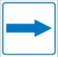 Piktogramm, Richtungsangabe Restbestände vorhanden